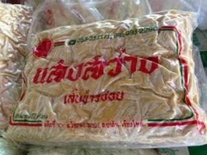 Noodles para preparar Khao Soi