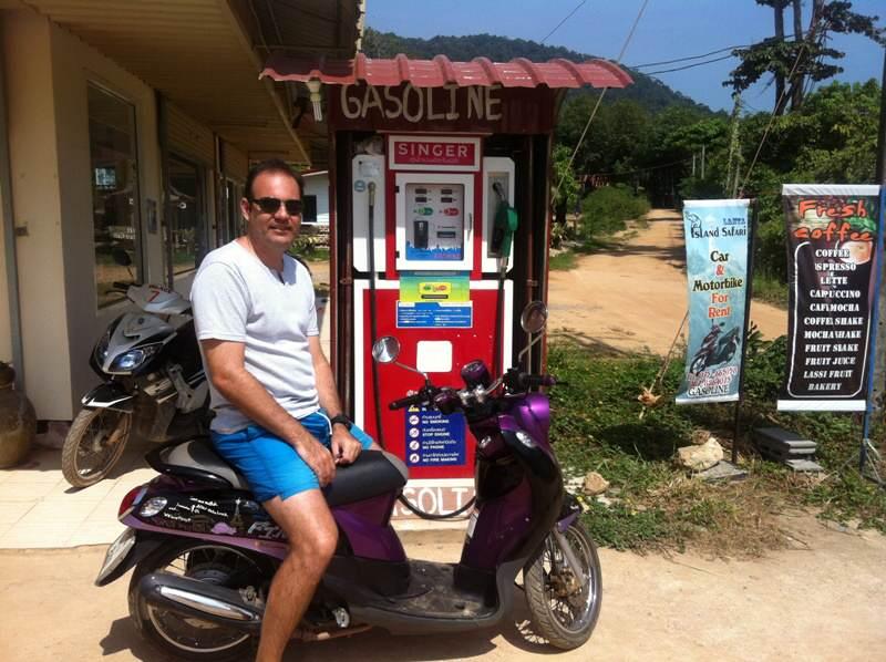 Como moverse en Koh Lanta