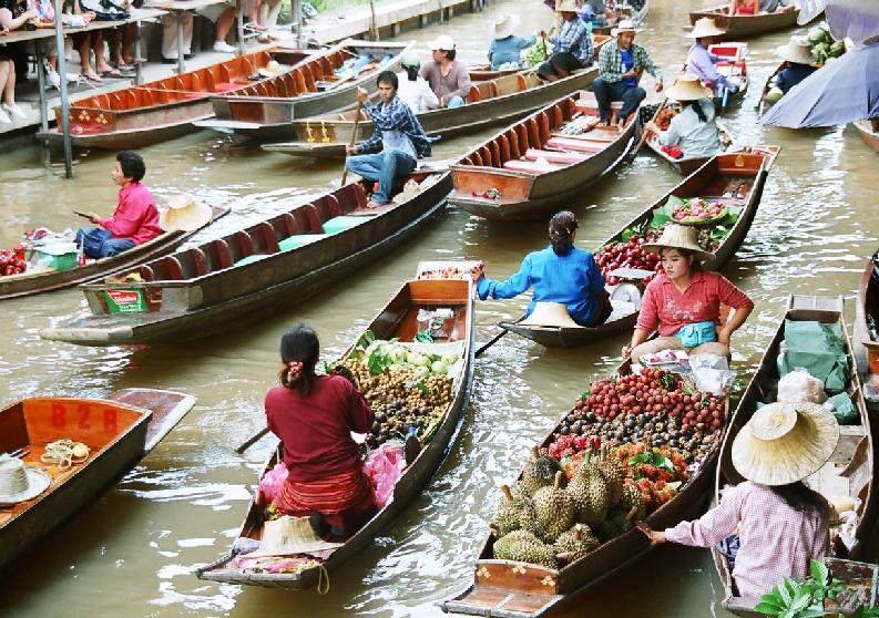 Mercados que visitar en Tailandia
