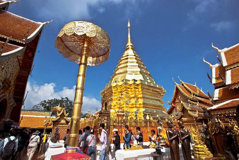 Templos mas importantes de Tailandia