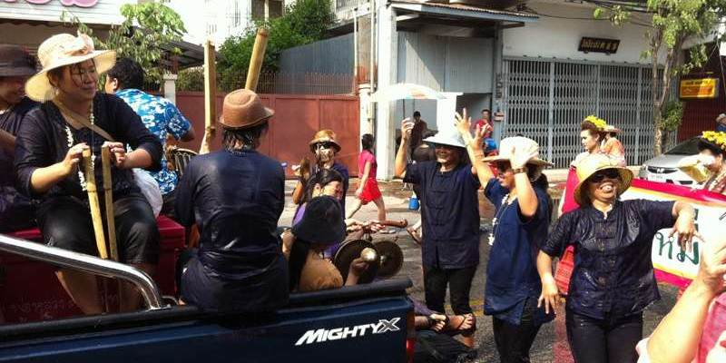 Fiesta de Songkran Tailandia