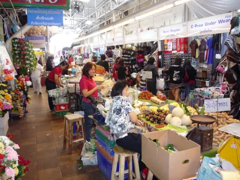 Mercados populares de Chiang Mai