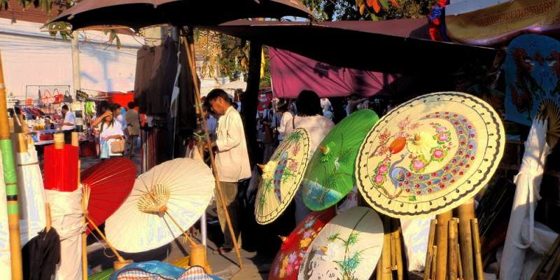 Mercados de Chiang mai