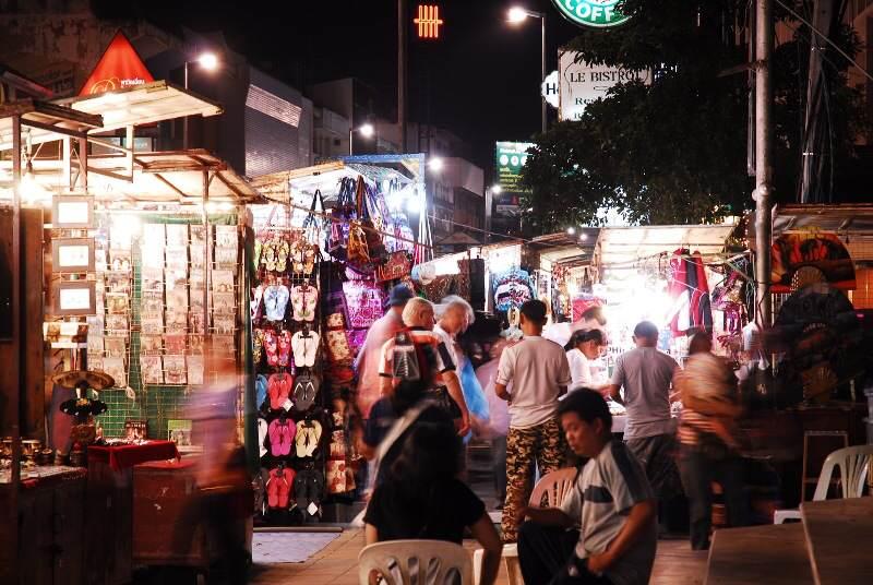 Mercados turísticos de  Chiang Mai
