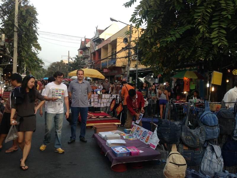 Mercados de fin de semana en  Chiang Mai