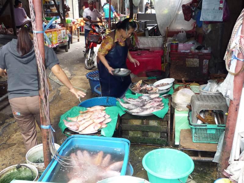 Mercados locales de Tailandia