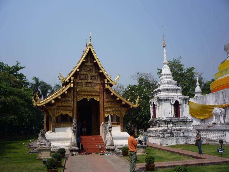 Templos en el centro de Chiang Mai