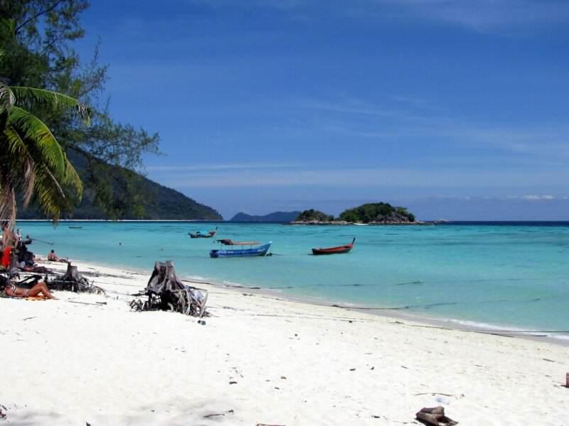Isla del Koh Lipe en Tailandia