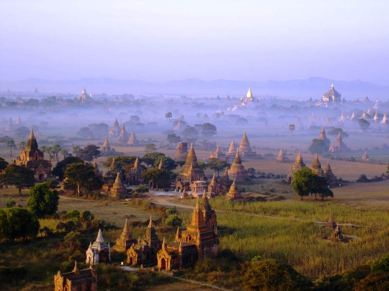 Templos que ver en Birmania