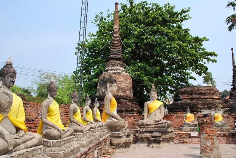 Ruinas de templos que  ver en Tailandia