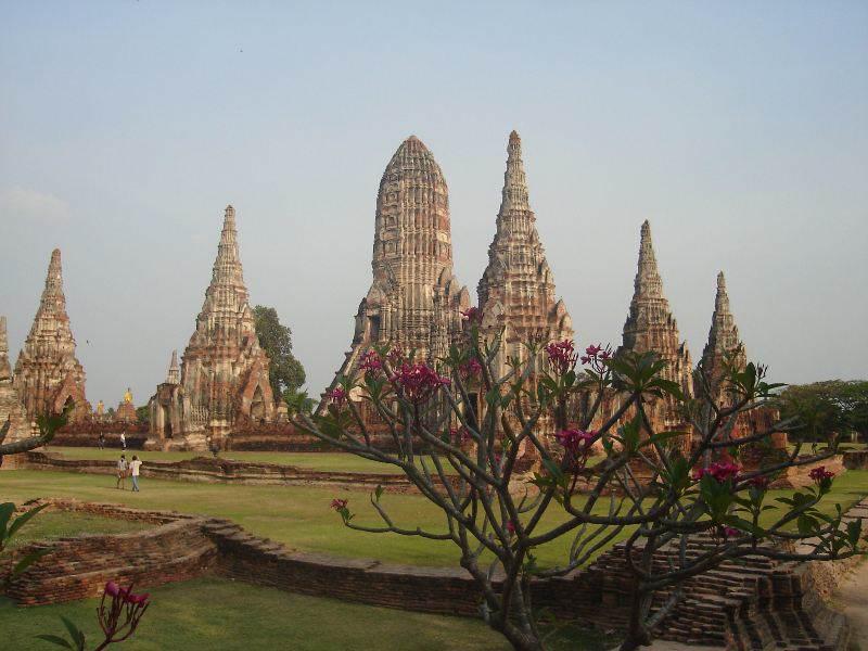 Los Templos de Ayuthaya