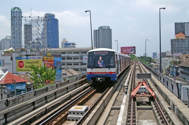 El BTS para moverse por Bangkok