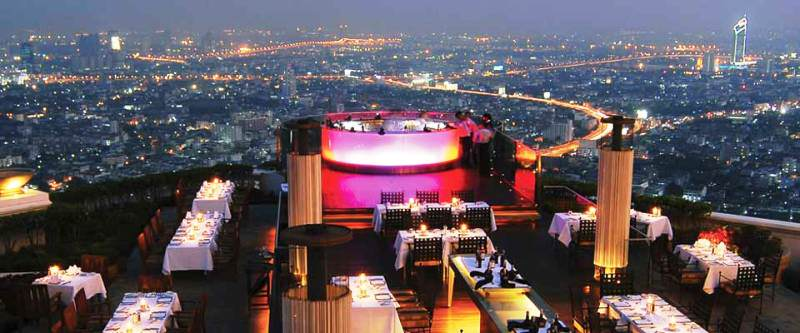 Lugares para salir por la noche en Bangkok