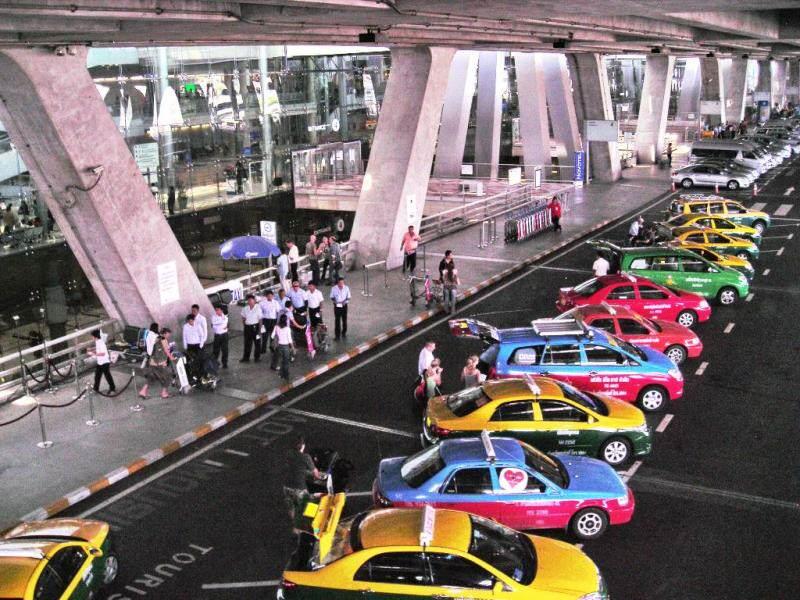 Transporte en Bangkok en el aeropuerto