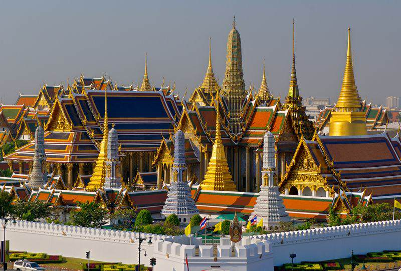 Exterior del Gran Palacio de Bangkok