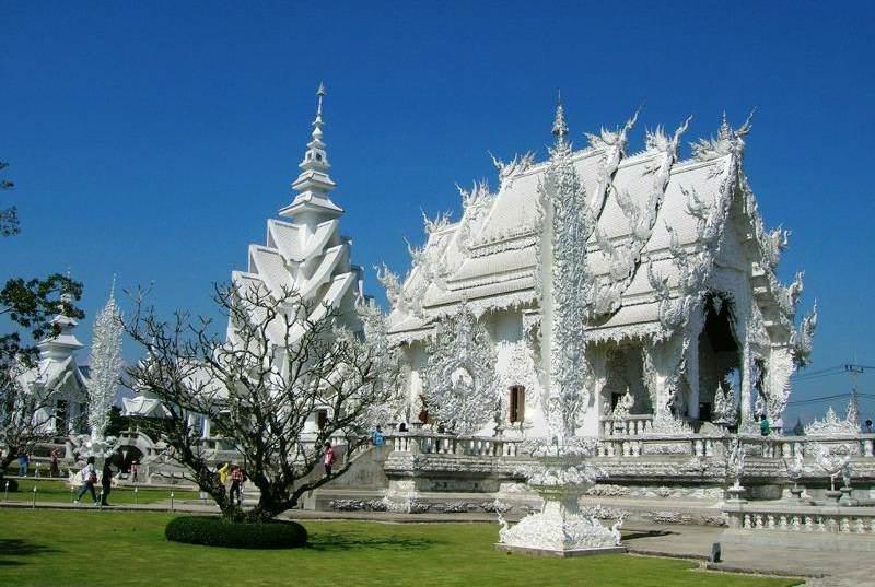 Wat Rongkun el templo blanco de Tailandia