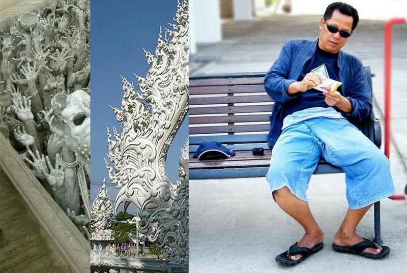 Artista Creador del Templo Blanco de Tailandia