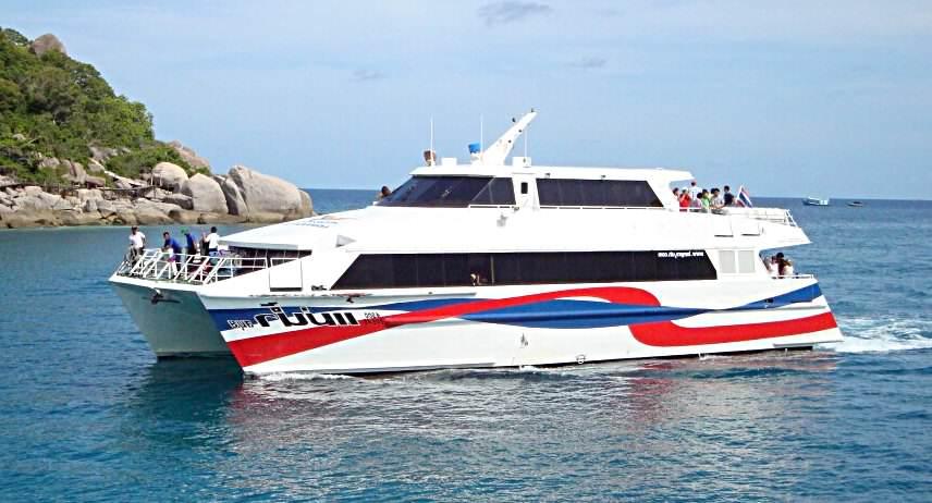 Como llegar a Koh Samui en barco