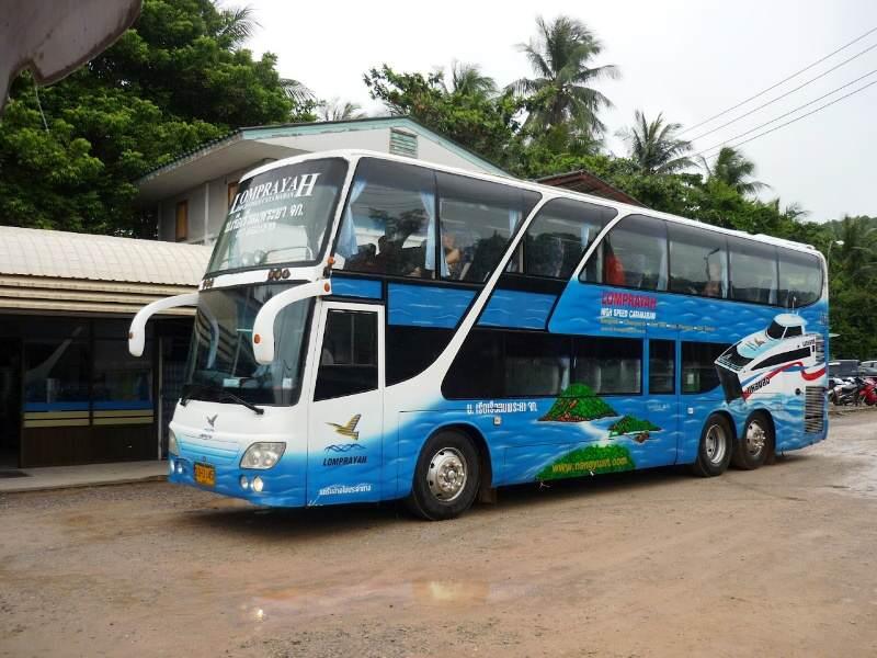 Como llegar a Koh Tao en autobús y barco