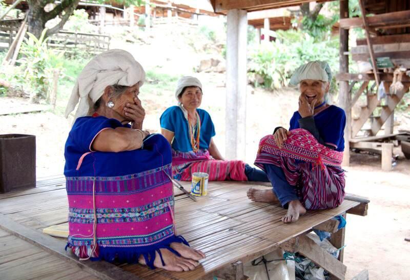 Poblad9os de tribus en Doi Inthanon