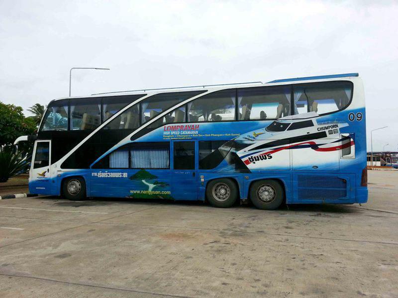 Como llegar a Koh Phangan en autobús y barco