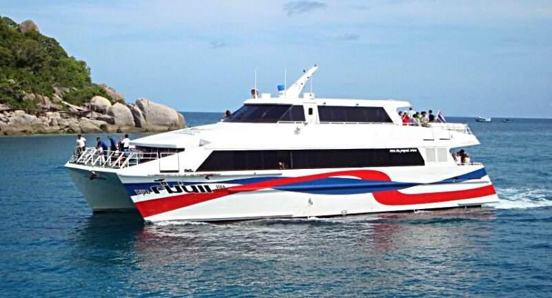 Como llegar a Koh Phangan en barco