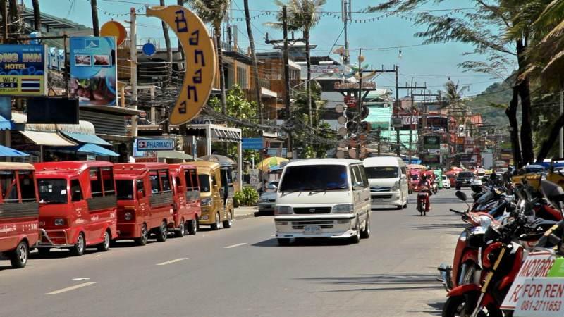 Como moverse en Phuket