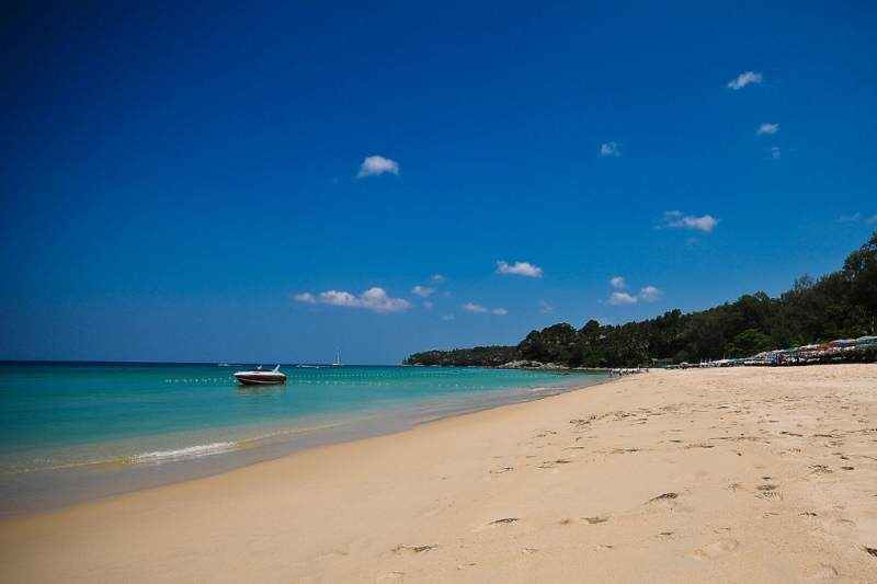 Turismo en las playas de Phuket