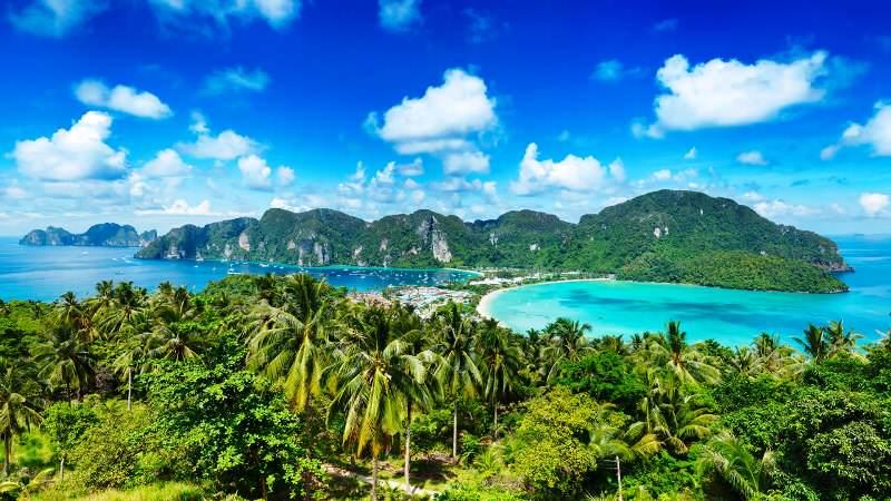 Hacer turismo en Koh Phi Phi