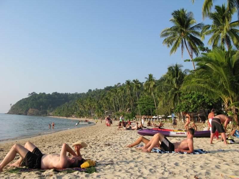 Playa del oeeste de Koh Chang
