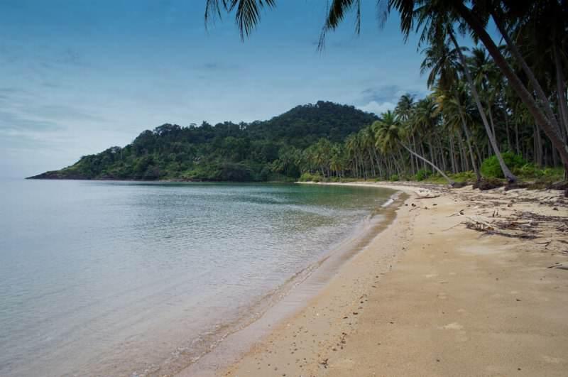 Playa al este de Koh Chang