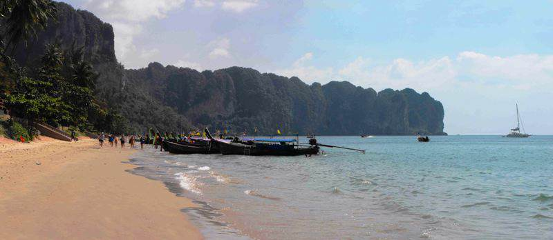 Playa de Aonang en Krabi