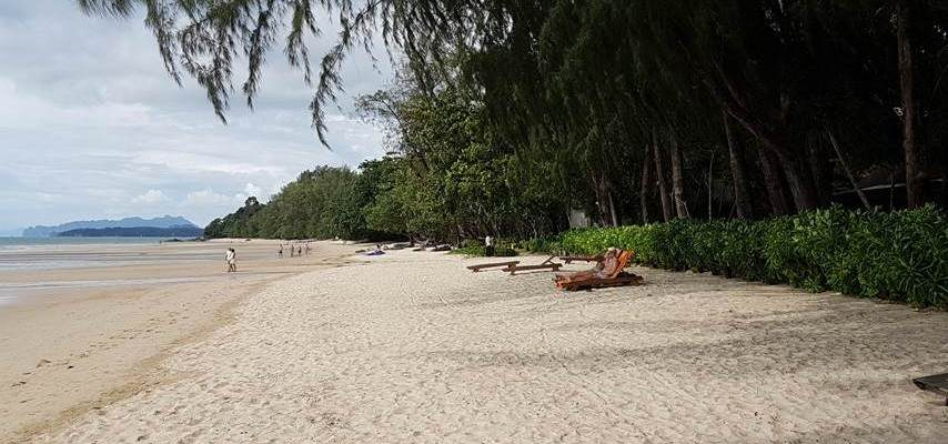 Playa de Tubkaek en Krabi