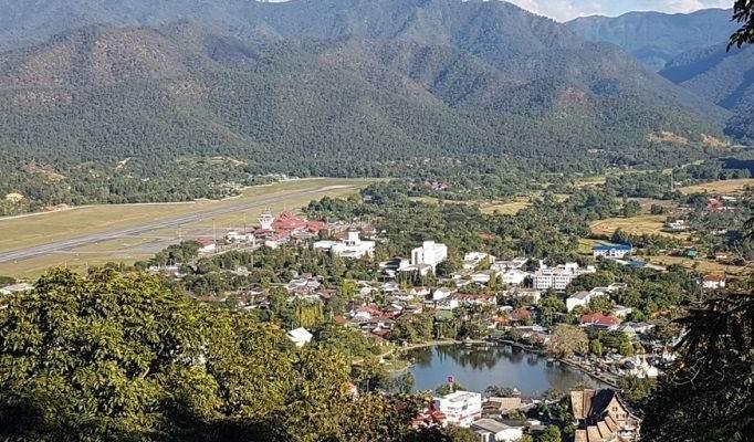 Localidad ed Mae Hong Son en Tailandia
