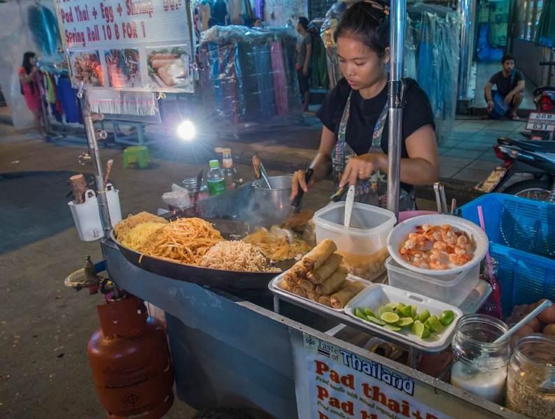 Donde comer Pad Thai