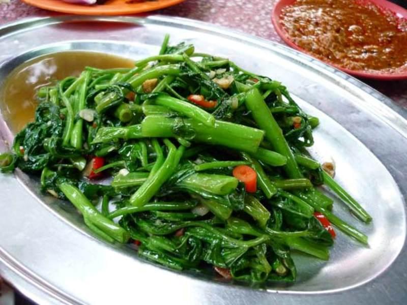 Las verduras que comer en Tailandia