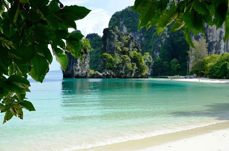 Playas de Tailandia en las Islas de Krabi