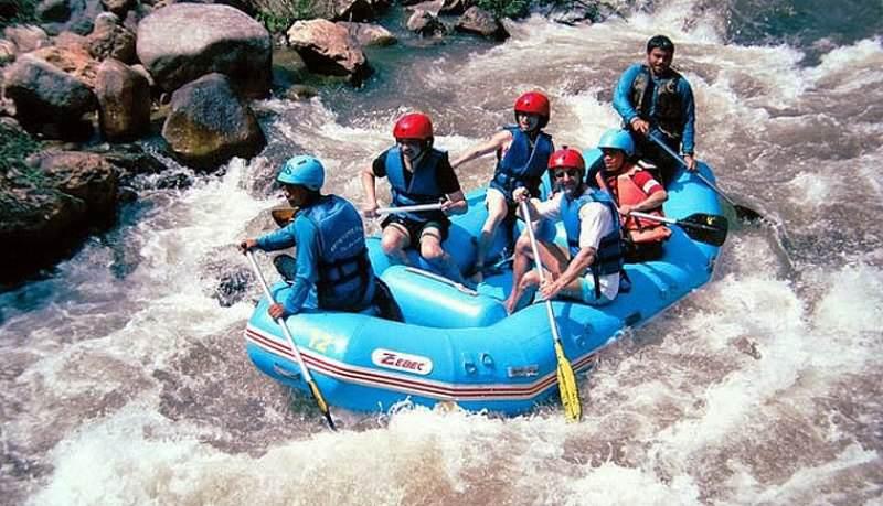 Hacer Rafting en Krabi