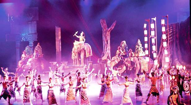 Espectáculo Fantasía en Phuket