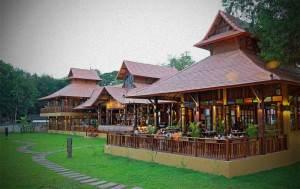 Restaurantes Chiang Mai al borde del rio