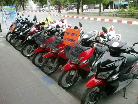 Alquilar una moto en Koh Samui