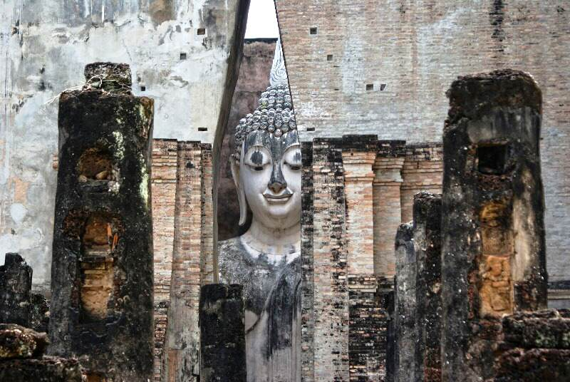 Templos famosos en  Sukhothai