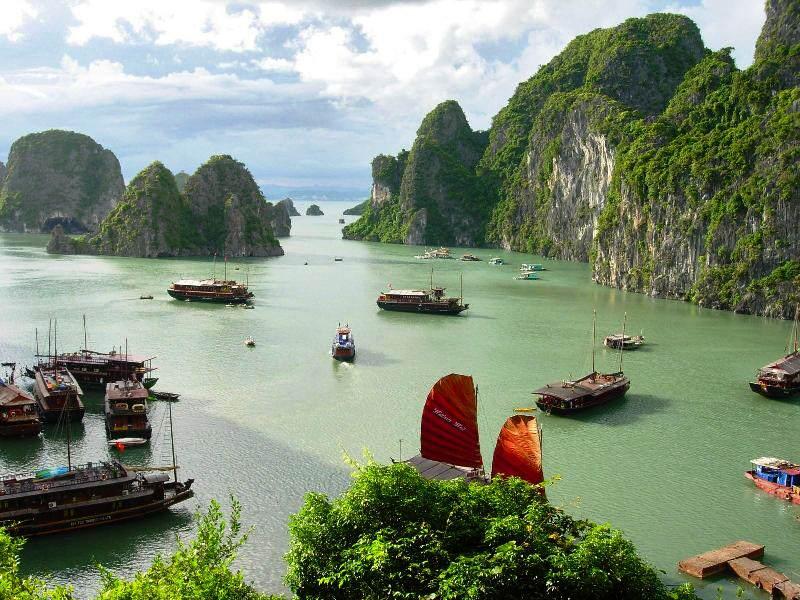 El tiempo en Tailandia en la zona sur