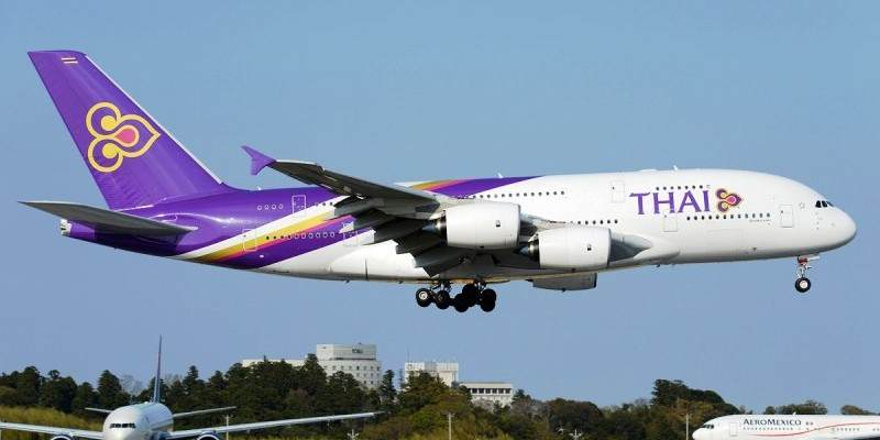 Vuelos domesticos con Thai Airways