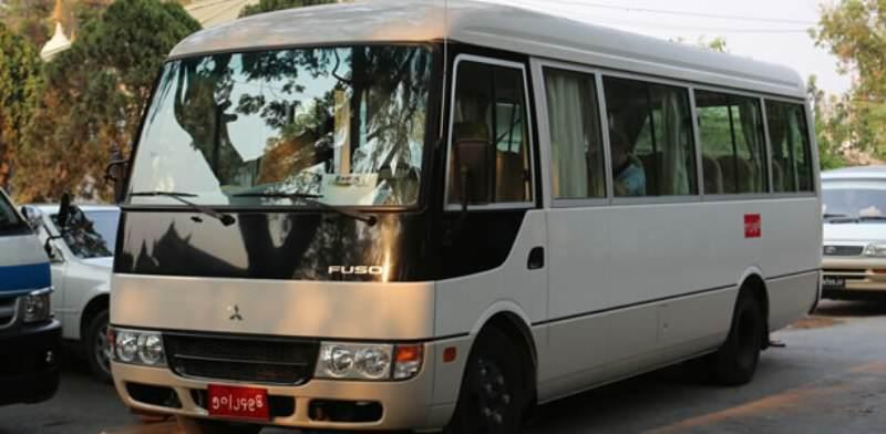 Viajar en Birmania por carretera