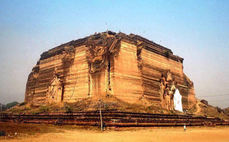 Antigua capital de Mingun-Mandalay