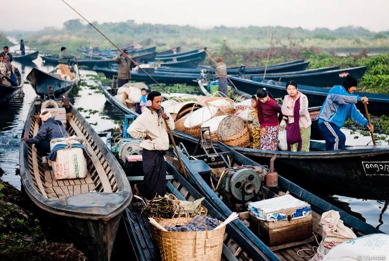 Mercados del Lago Inle