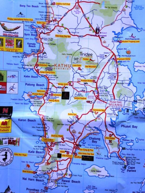 Phuket Mapa
