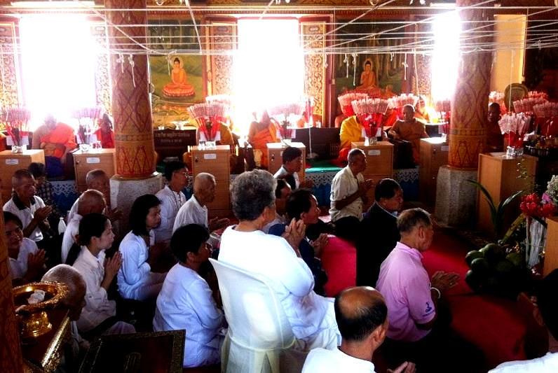 Budismo en los templos de Tailandia