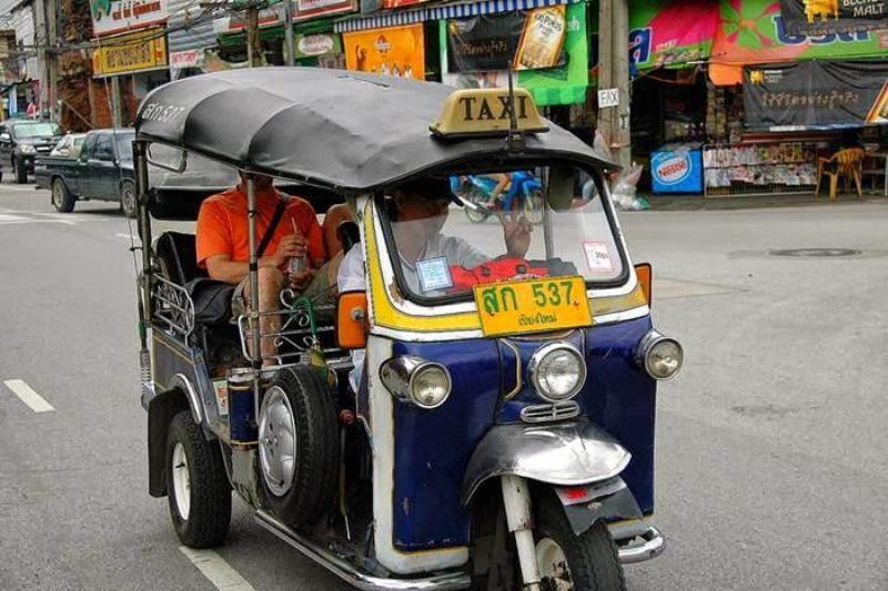 El Tuc Tuc es poco seguro en Tailandia
